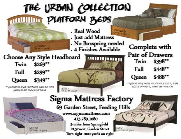 Platform Beds . No Boxspring Required