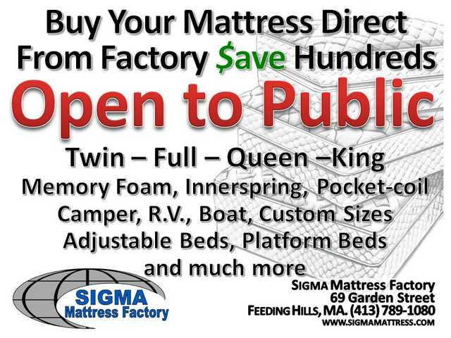 Mattress Factory Open To Public