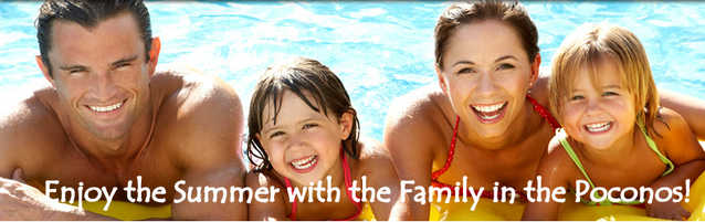 Poconos Summer Vacation Rentals Furnished Near All Attractions!