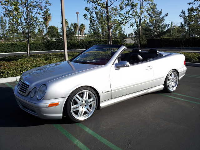rare 2000 mercedes brabus clk 430 low miles 13000. Black Bedroom Furniture Sets. Home Design Ideas