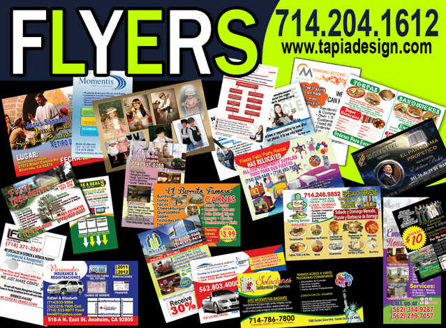 Flyers Printing In Anaheim Flyers Design Printing In Anaheim