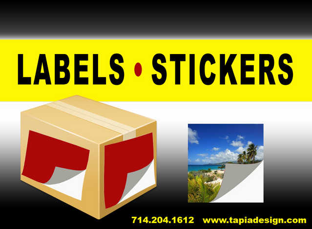 Stickers Labels Printing In Anaheim Sticker Labels Printing