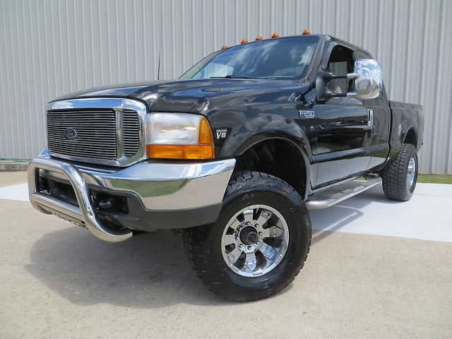 1999 Ford F250 Xlt 7.3l Power Stroke Turbo Diesel Super Cab - 4x4