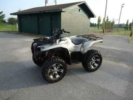 2007 Yamaha Grizzly 700 Special Edition
