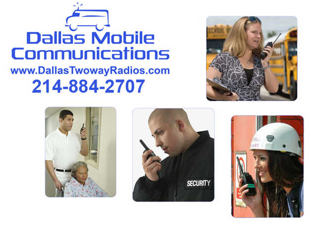 Dallas Mobile Communication Has Your Two - Way Radios