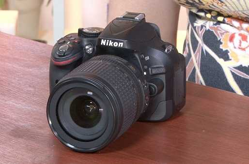 Nikon - D5200 Digital Slr Camera With 18 - 55mm Vr Lens - Black