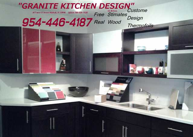 One Package - Cabinets - & - Granites - Deals - Free - Estimates Lic:08bs00