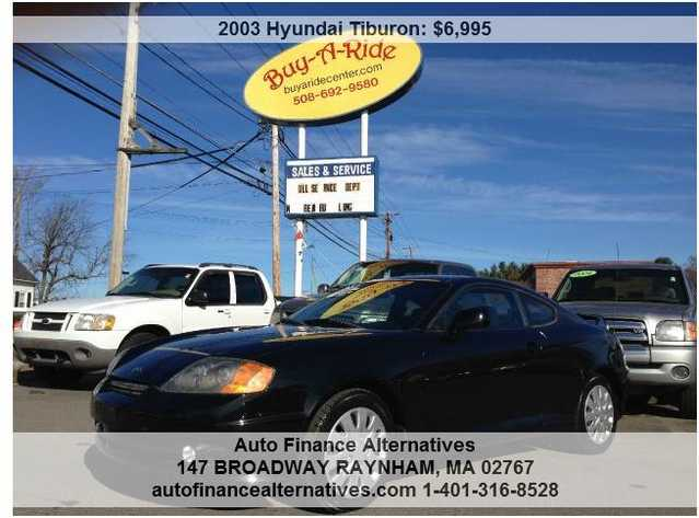 2003 Hyundai Tiburon 5 - Speed