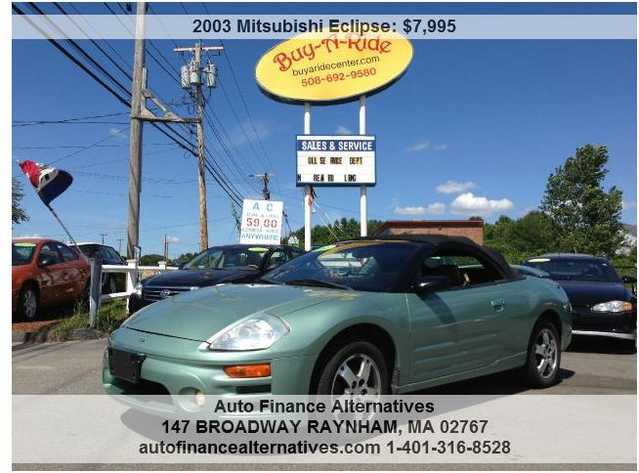 2003 Mitsubishi Eclipse Spyder Convertible * We Finance Anyone !