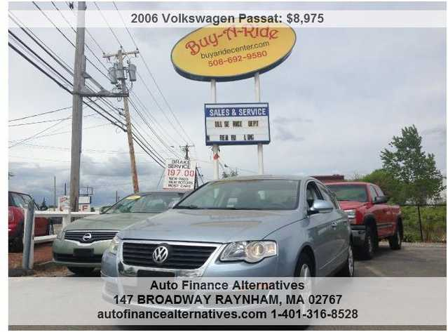 2006 Vw Passat Loaded ! Yes ! I Can Finance You No Worries !