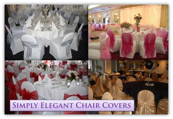 Stunning Chair Covers For Wedding And Special Events