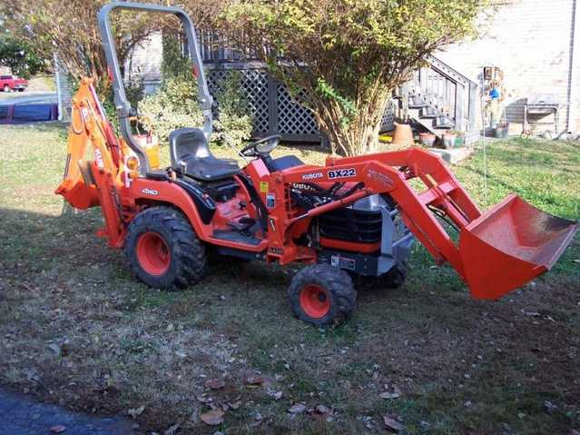 2003 Bx22 Kubota Tractor Loader & Backhoe