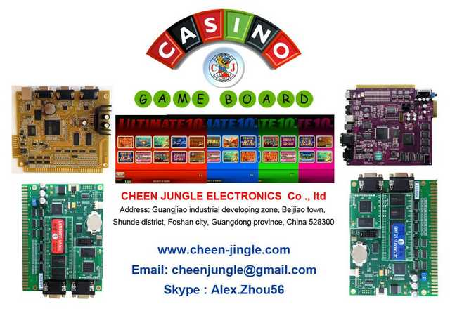 Casino Slot Machines And Game Boards