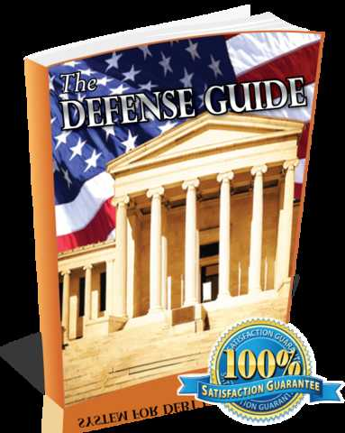 Use The Defense Guide To Win Your Case Today!