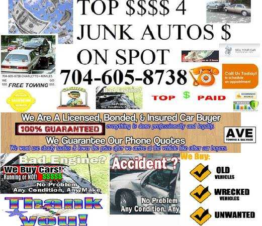Ave Salvage Direct Cash For Junk Autos