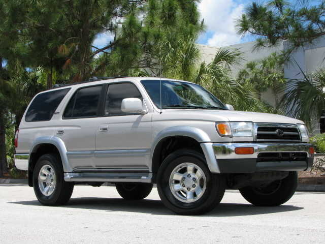 1998 Toyota 4runner Limited Ed 4wd