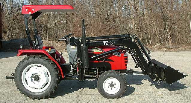 Brand New 25hp 4wd Tractor W / Loader