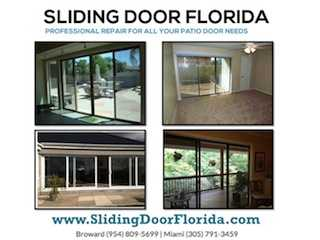 A_broward:. Sliding Door Repair, Tracks & Rollers Replacement