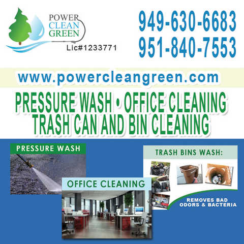 Trash Bins Wash In Riverside Irvine, Dana Point, Laguna Beach