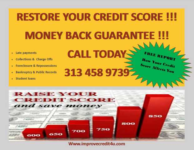 Restore Your Credit & Change Your Life Forever!