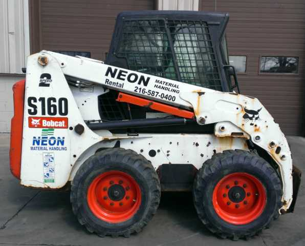 2008 Bobcat S160 Skid Steer Loader