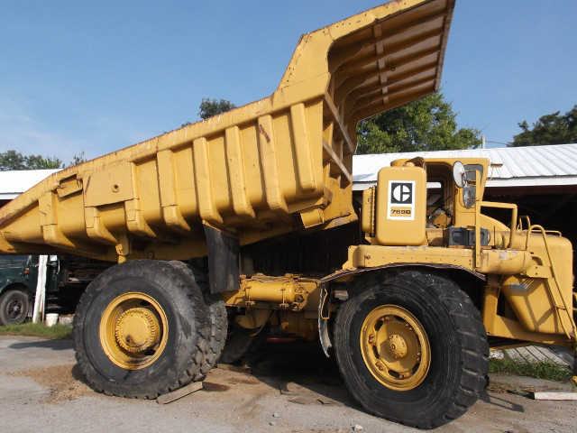 1977 Caterpillar 769b Dumpers