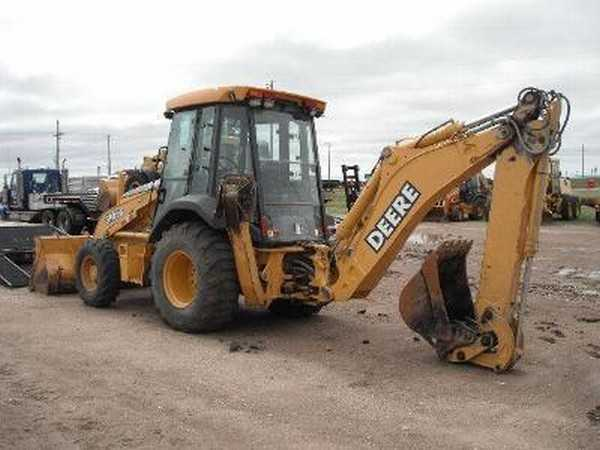 2001 John Deere 310sg Loaders 4 - Wheel Drive