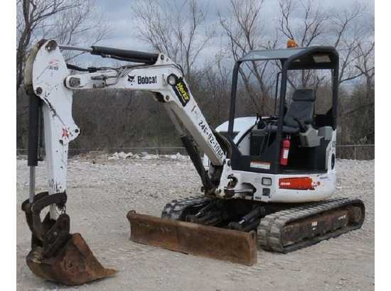2007 Bobcat 430 Mini Excavators