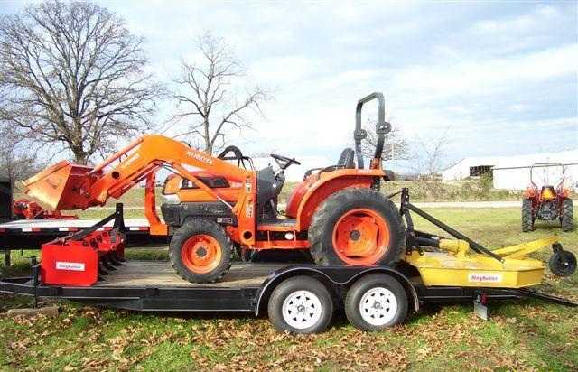 2003 Kubota L3130hst 4wd Tractor With Trailer
