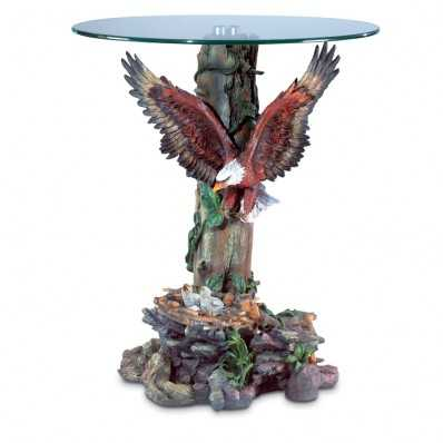 Beautiful Eagle Accent Table