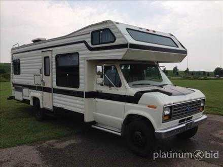 1985 Ford Class C Rockwood Motor Home