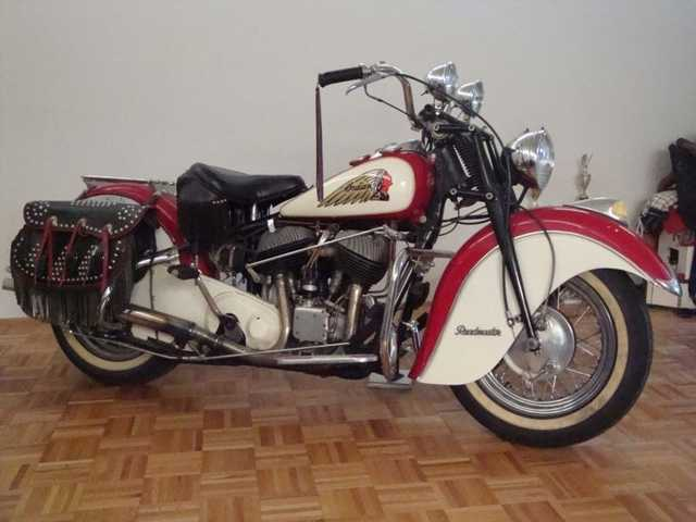 1947 Indian Classic 1947 Indian Chief Roadmaster