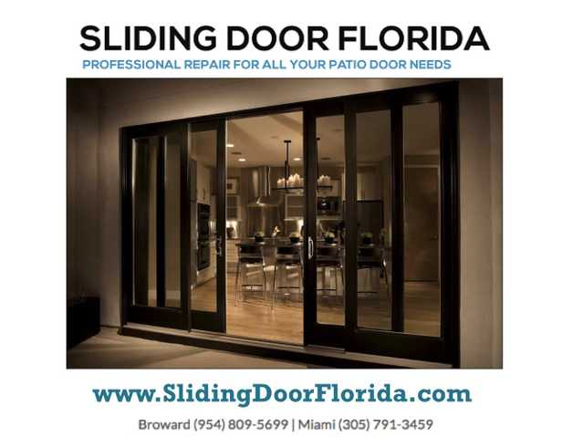 In Lauderhill Fl:. Sliding Glass Door Repair And Installation