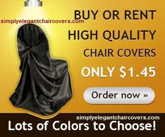 Chair Cover Rentals - Best Prices & Huge Selection?