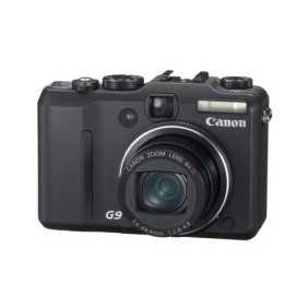 Canon Powershot G9 12.1mp Digital Camera With 6x Optical Image St