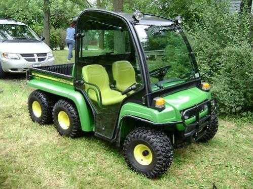 2007 John Deere Gator 6x4 Th With Cab