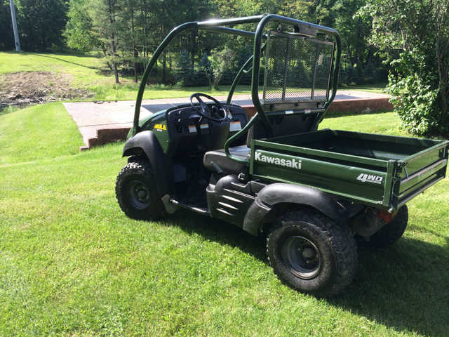 Reduced Kawasaki Mule 610