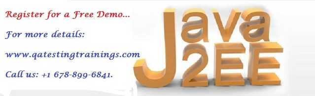 Java J2ee Online Training With Job Placement Assistance In Usa, Uk