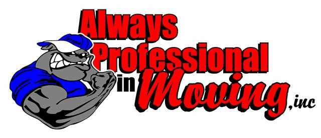 Always Professional In Moving! For All Your Moving Needs