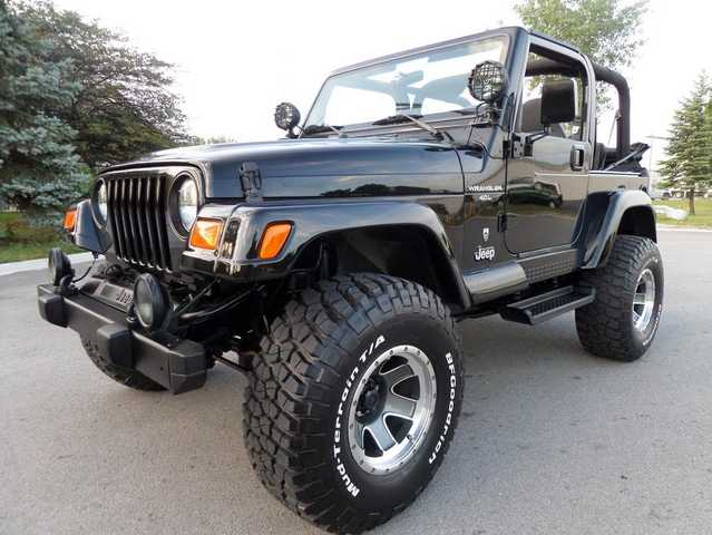 2001 Jeep Wrangler Sport 60th Anniversary Edition