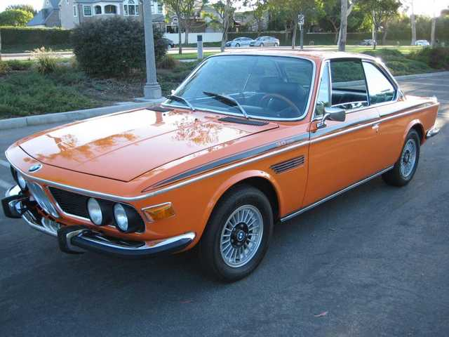1972 Bmw 3.0csi Coupe