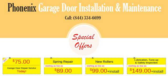 Garage Door Repair Phoenix