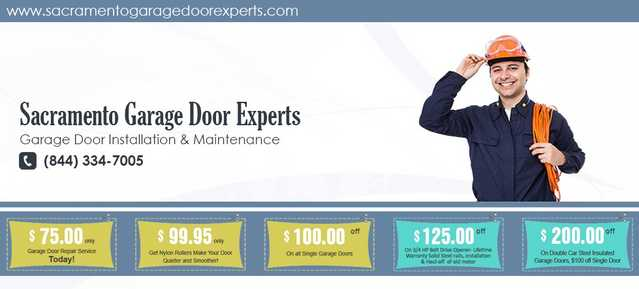 Garage Door Repair & Installation Sacramento