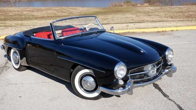 1958 Mercedes - Benz Sl190 Roadster