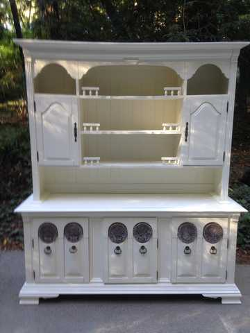 Extra Large Country Farmhouse Hutch