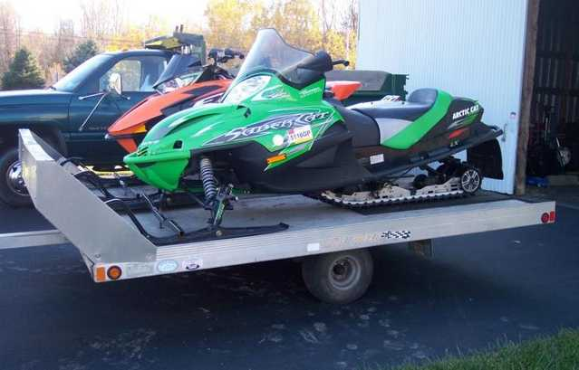 Arctic Cat Snowmobile Package Deal