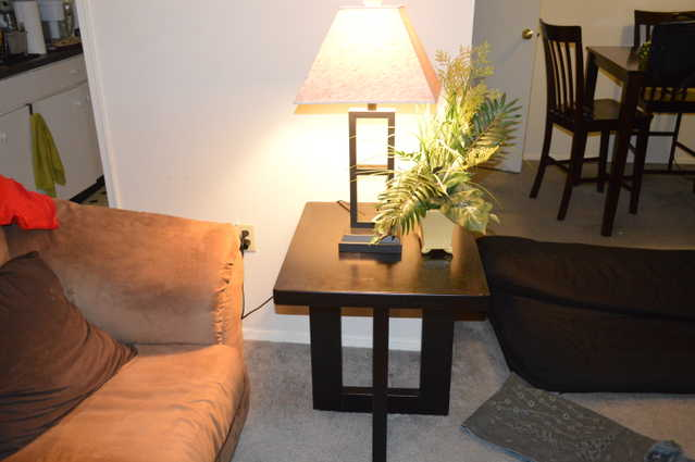 Table Lamps, Coffee Table, Side Tables