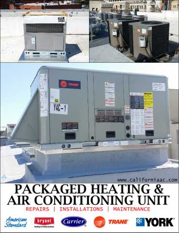 Industrial Hvac 100 Ton Packaged Units