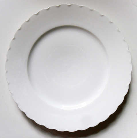 French Fine China Portia Pattern By Haviland White