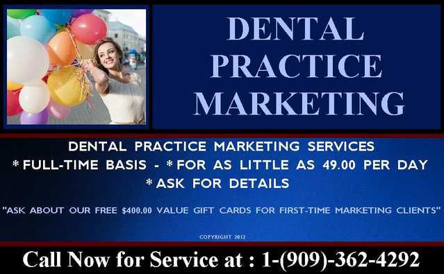 Dental Practice Marketing & Consulting